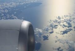 turbina cielo avion