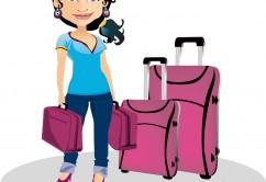 pasajero maletas viajero