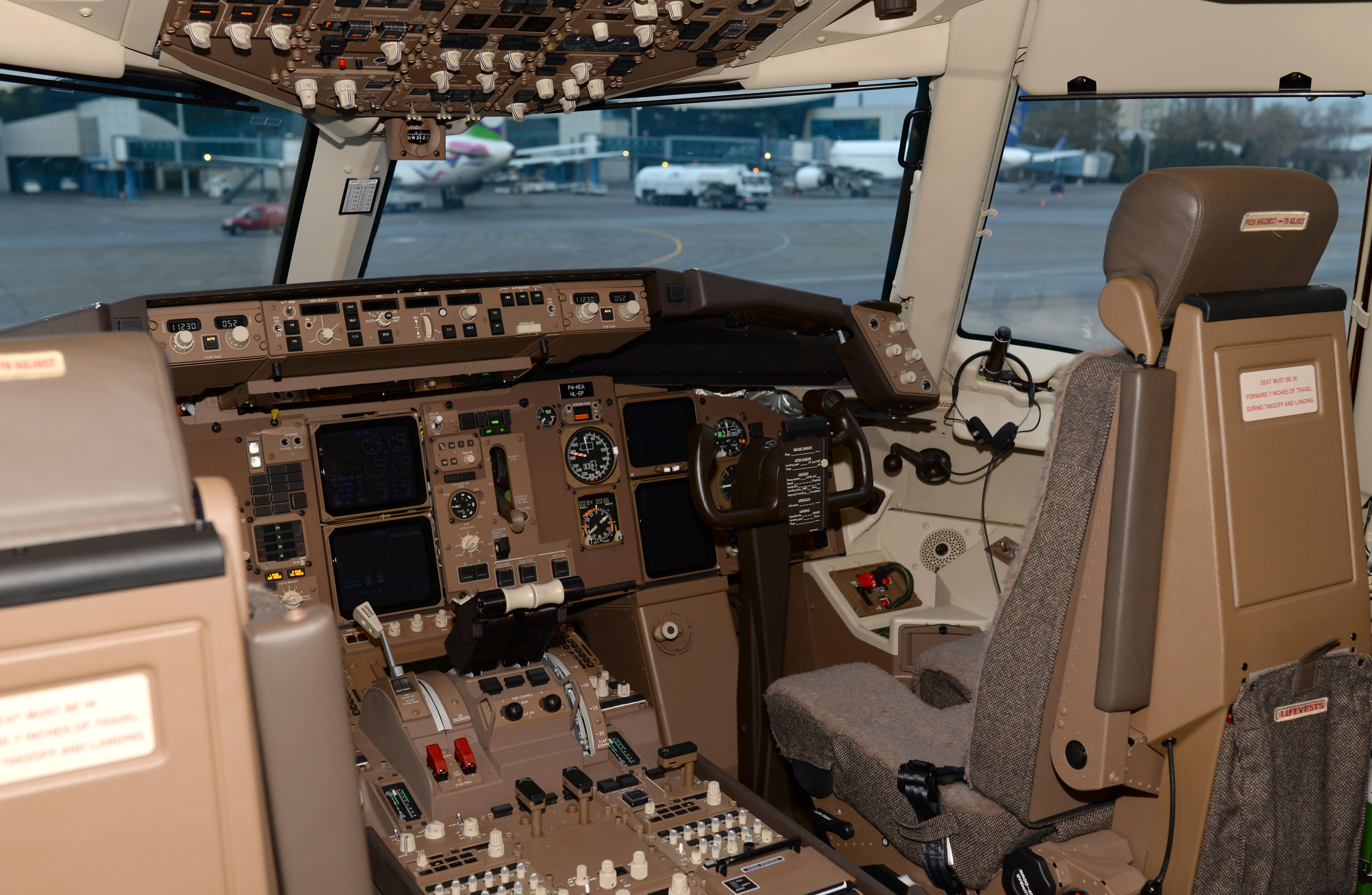 cabina pilotos