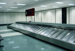 Aeropuerto huincha maletas equipaje