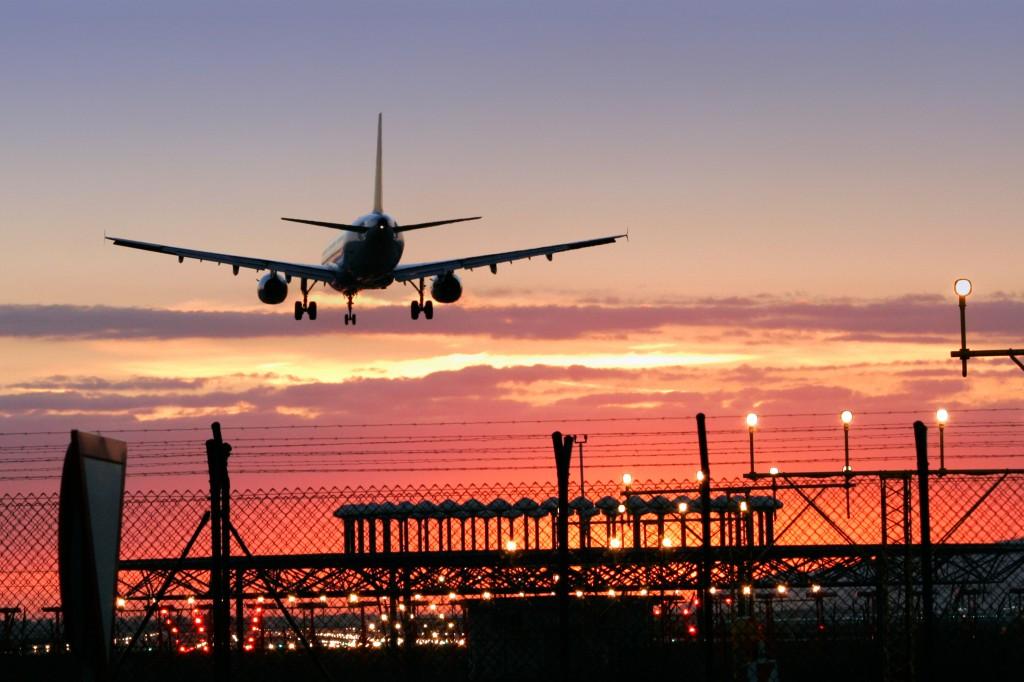 avion sunset sol atardecer