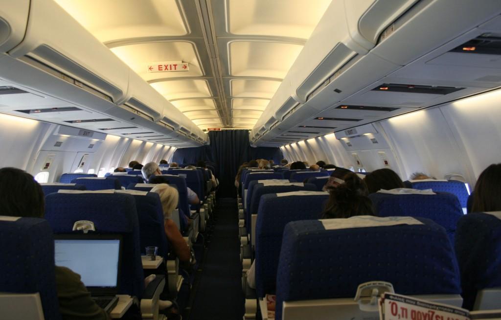 cabina pasajeros asientos