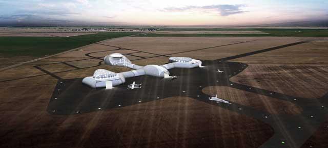 El primer puerto espacial diseñado por un español