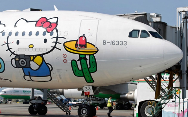 Hello Kitty ya tiene su propia aerolínea