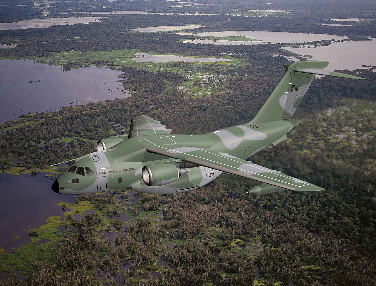 Embraer Defense & Security begins commercial campaign for the KC-390 military transport jet