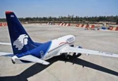 AeroMexico B737-700 desde arriba