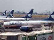 Aeroméxico B737-700 estacionados