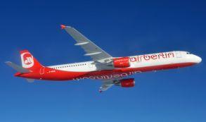 Airberlin desplaza 18 millones de pasajeros hasta julio, un 5,9% menos