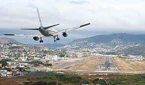 Aterrizaje en Toncontín