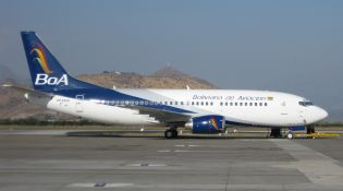 Aerolíneas bolivianas mueven unos siete mil 700 pasajeros diarios