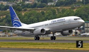 Copa Airlines B737-800 takeoff