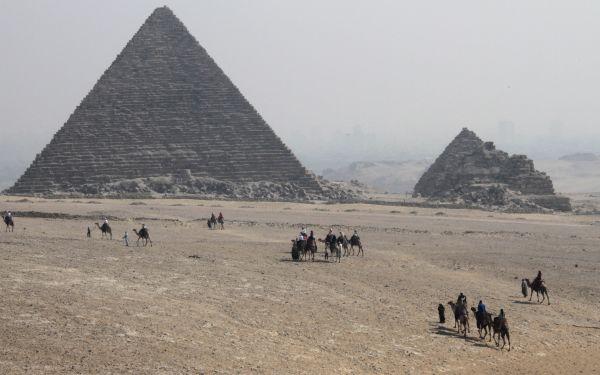Cae casi un 50% la llegada de turistas a Egipto