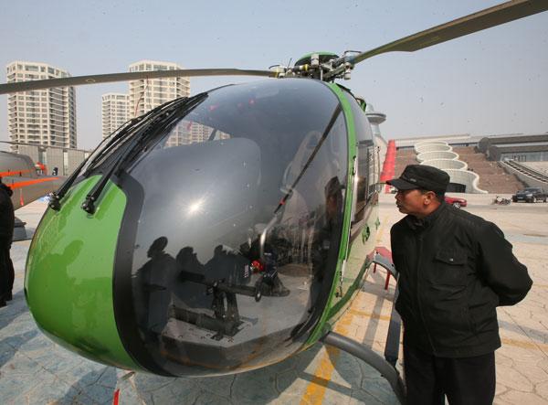 Abren por toda China tiendas de helicópteros privados