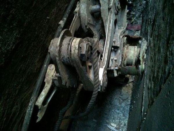 Estos restos serían de uno de los aviones usados el 11-S