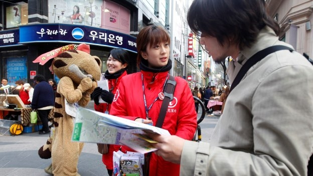 Seúl pide a los turistas no asustarse por las amenazas de Corea del Norte