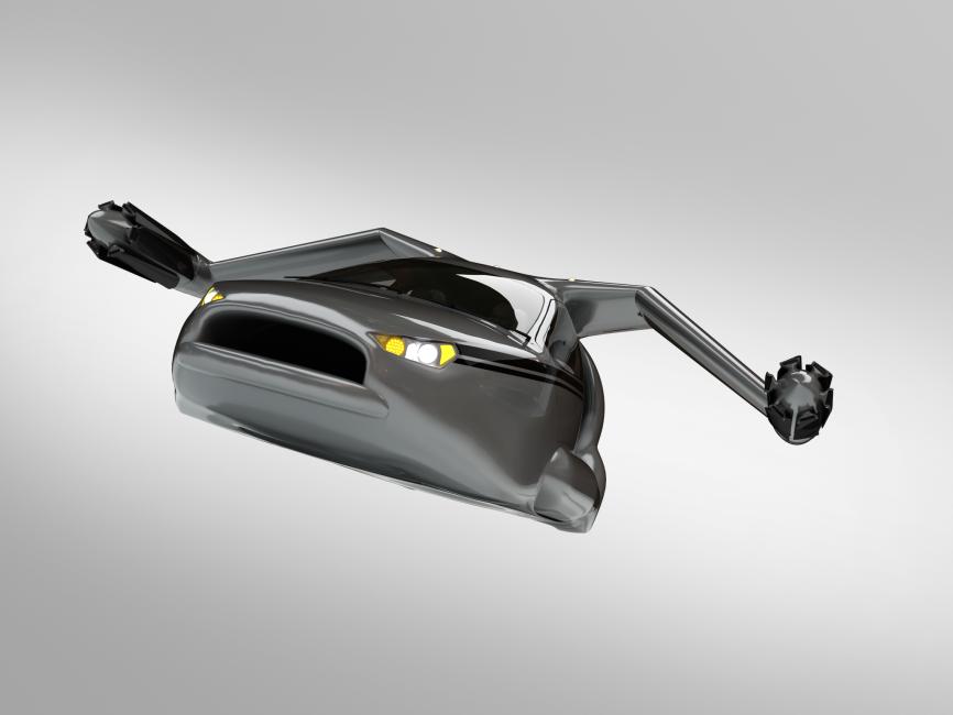 Libres de atascos: una empresa tendrá listo en 2020 tu propio coche volador