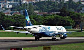 Azul poderia ter voo internacional entre Cuiabá e Bolívia em 2016