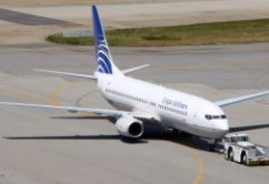 Copa Airlines B737-800 pushback E. Moura