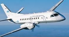 Avión de LADE varado hace una semana en El Calafate