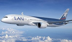 LAN concluye modificaciones en sus aviones Boeing 787 Dreamliner