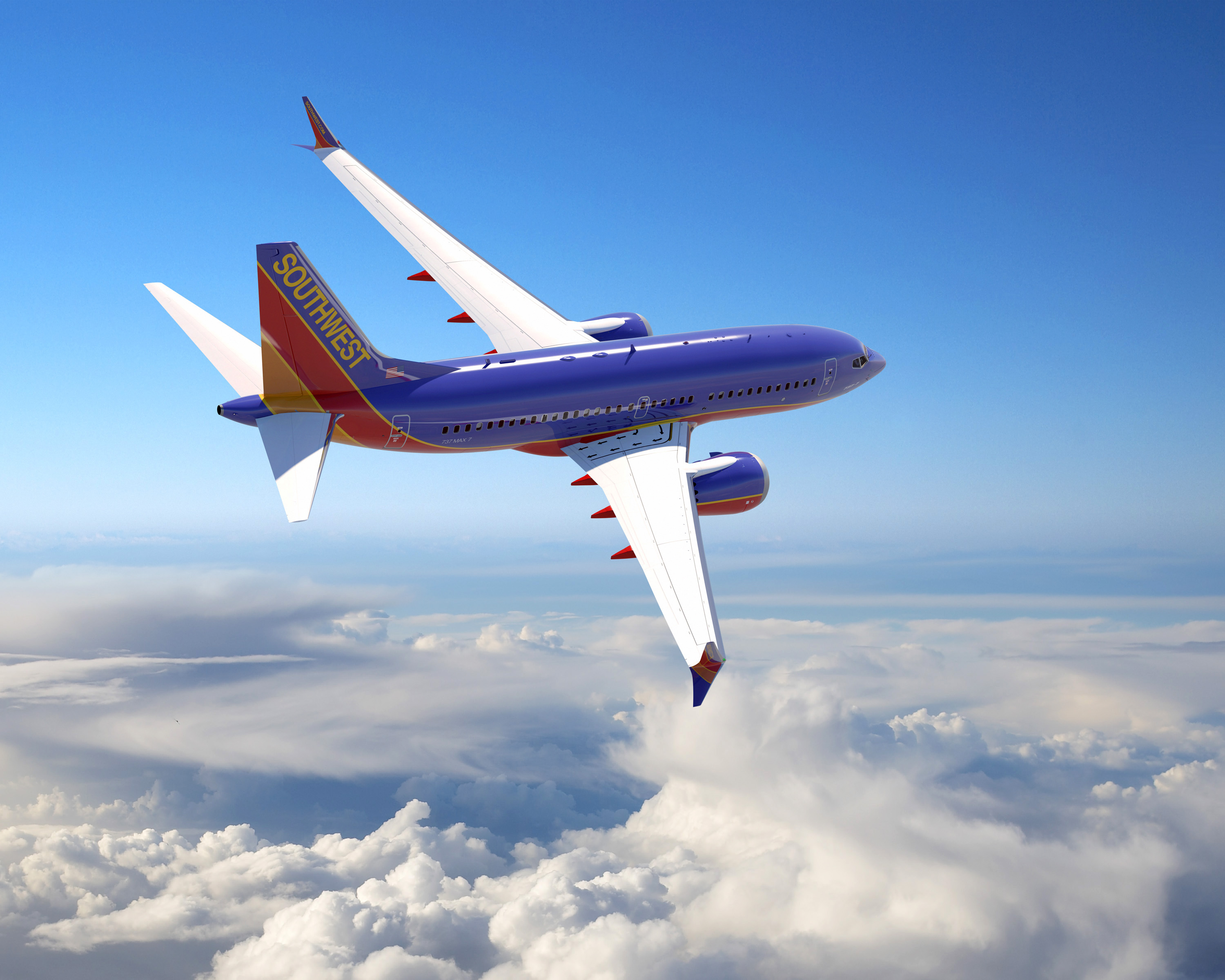 Southwest Airlines reporta utilidades por 1,000 mdd