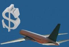 avión y $
