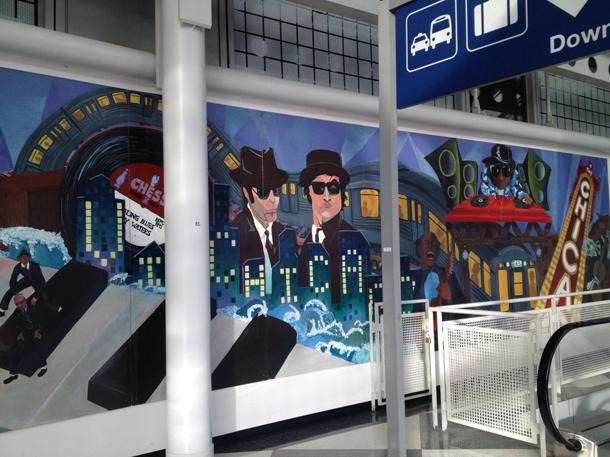 Aeropuertos con exposiciones de arte