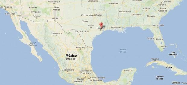 mapa EEUU