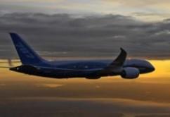 787 Dreamliner vuelo de prueba_ Atardecer en Seattle