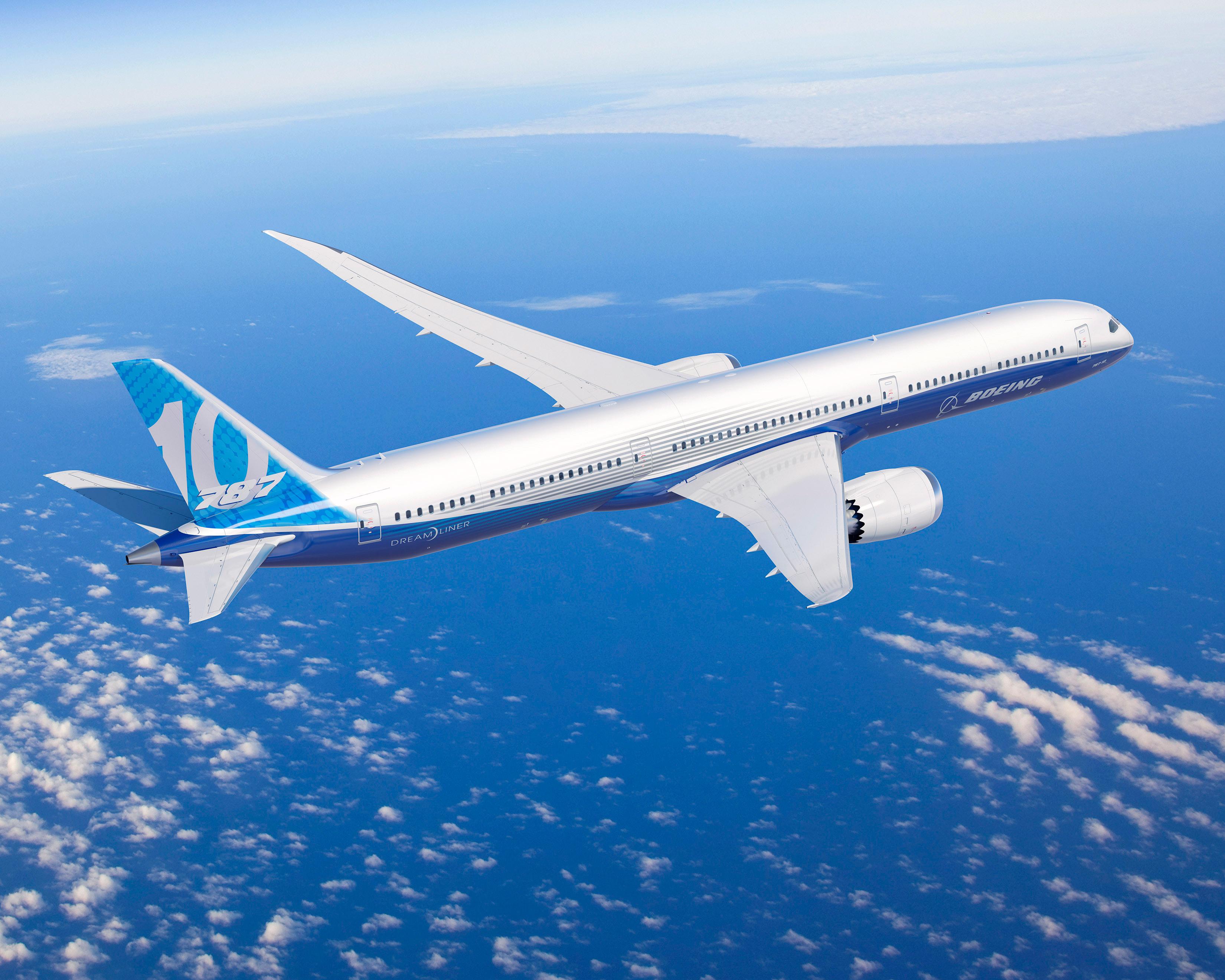 Boeing lanza el 787-10 Dreamliner