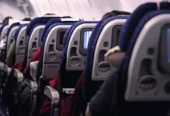 Asientos pasajeros avión