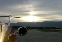 Avión horizonte