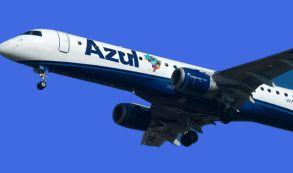 Azul anuncia rota sem escalas entre Curitiba e Goiânia