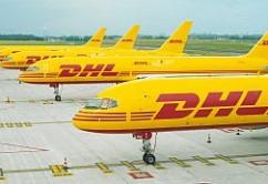 DHL B757s