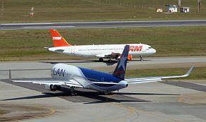 Tráfego aéreo na Am. Latina soma 292 milhões de paxs