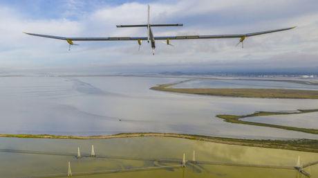 El avión solar continúa con su exitoso recorrido