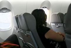 asientos avion CRJ