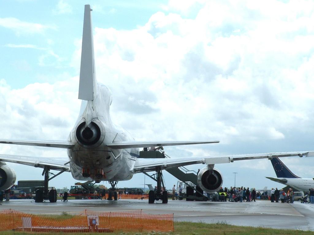 avión back