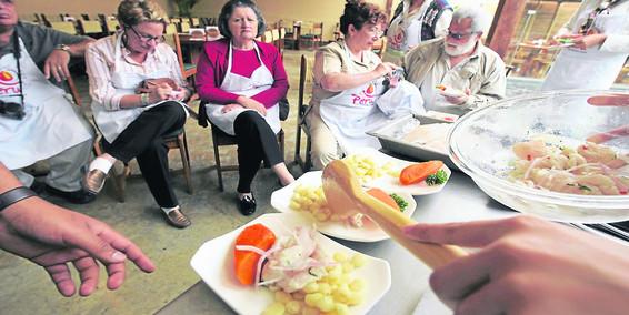 Platos peruanos atraen a 80.000 extranjeros al año