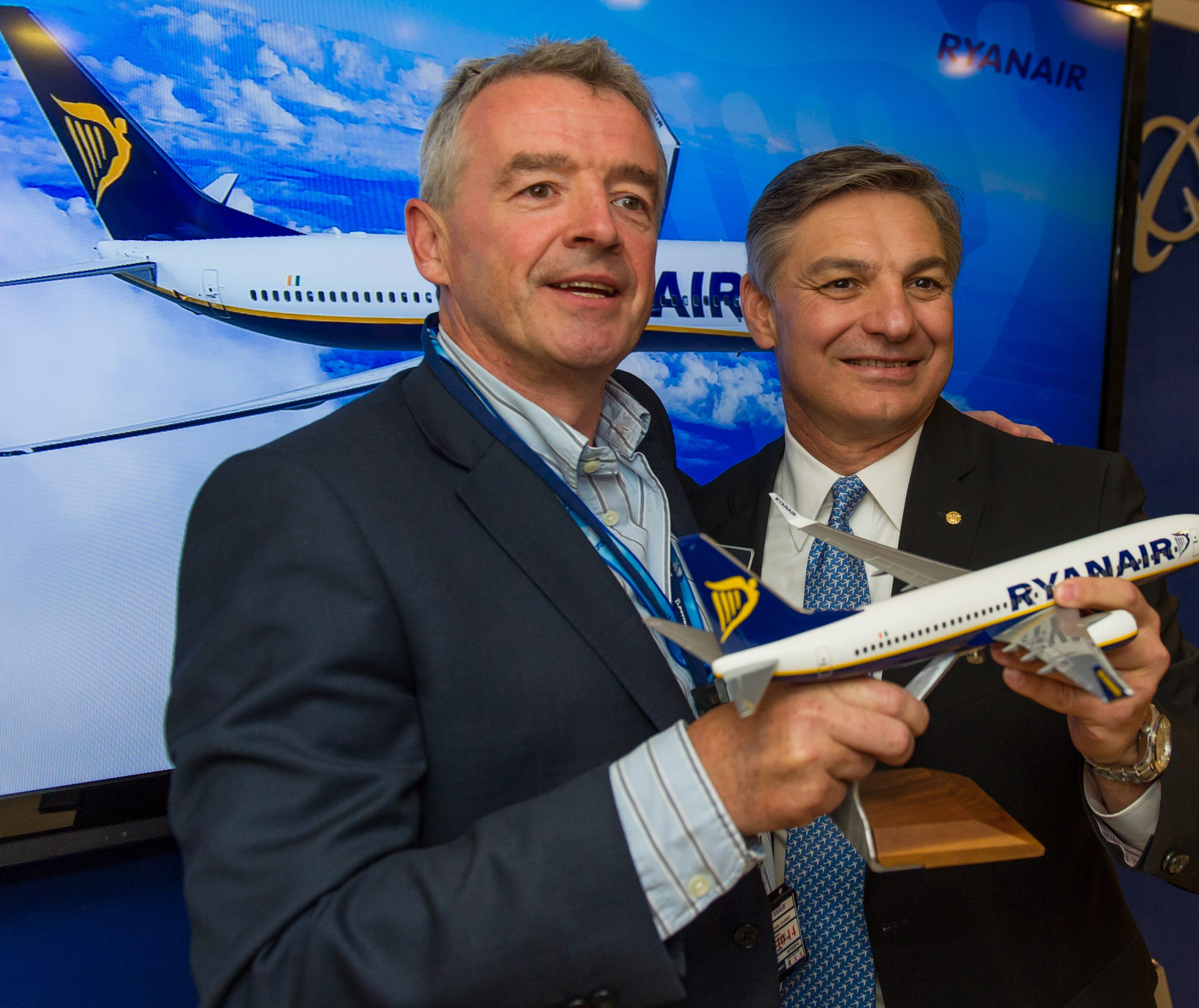Boeing y Ryanair cierran un pedido por 175 aviones 737 Nueva Generación