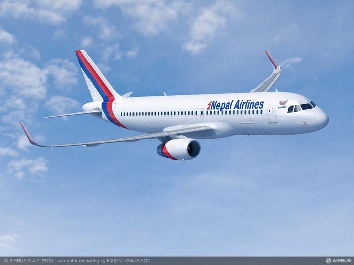 Nepal Airlines confirma la compra de dos Airbus A320 con Sharklets