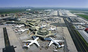 El tráfico de pasajeros en el aeropuerto de Fráncfort sube un 6,1 % en 2017