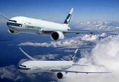 Cathay Pacific B777F y B77W