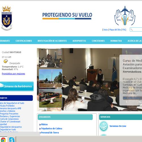 DGAC lanza nuevo sitio web que posibilita la realización de gestiones online