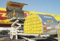 DHL carga de avion