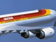 Iberia A340-600 front