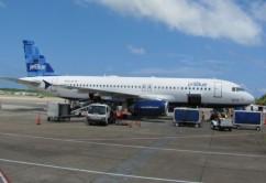 Jet Blue A320 en Caribe