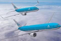 KLM B77W y B737NG