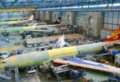 Linea de ensamblaje A330,A340