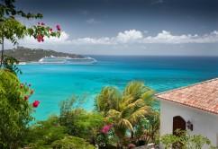 Paisaje en El Caribe